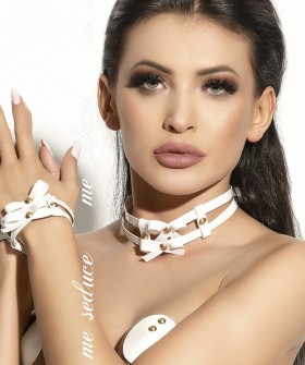 Повязка Me Seduce Chocker 03 White