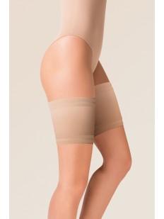 Атласная телесная повязка бандалетка от натирания между ног