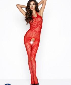 Бодикомбинезон Passion Bs 037 Red Erotic Line