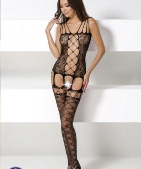 Бодикомбинезон Passion Bs 054 Black Erotic Line