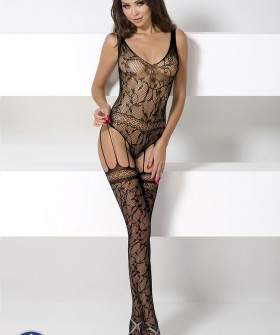 Бодикомбинезон Passion Bs 051 Black Erotic Line