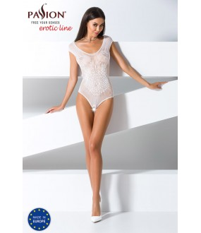 Кружевное боди Passion erotic line Bs 064 white