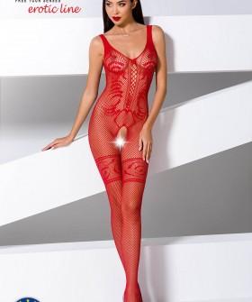 Красный бодистокинг Passion Erotic Line BS 069