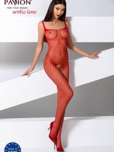 Красный бодистокинг Passion Erotic Line BS 071
