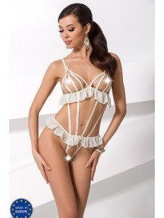 Боди Passion Leila Body Ecru Erotic Line