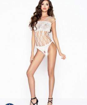 Бодикомбинезон Passion Bs 035 White Erotic Line
