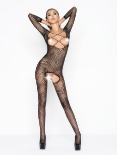 Бодикомбинезон Passion Bs 040 Black Erotic Line