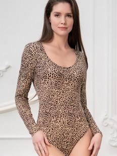 Леопардовое боди Mia-amore Body dream 2236