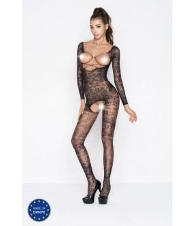Бодикомбинезон Passion Bs 031 Black Erotic Line