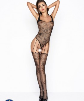 Бодикомбинезон Passion Bs 034 Black Erotic Line