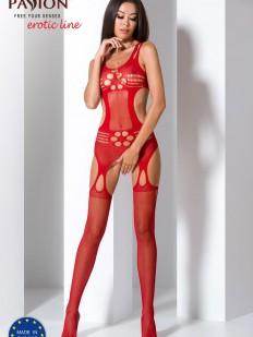 Эротический бодистокинг Passion erotic line Bs 066 red