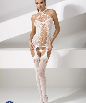 Бодикомбинезон Passion Bs 056 White Erotic Line