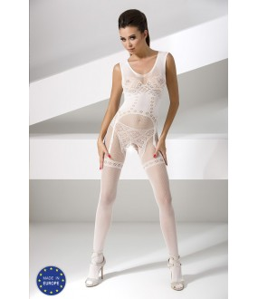 Бодикомбинезон Passion Bs 052 White Erotic Line