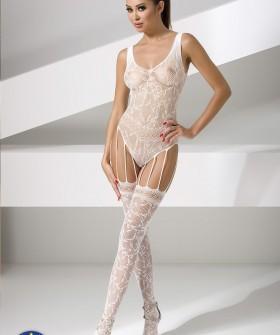 Бодикомбинезон Passion Bs 051 White Erotic Line