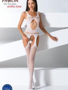 Бодистокинг Passion Erotic Line BS 057 White