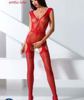 Бодистокинг Passion Erotic Line BS 062 Red