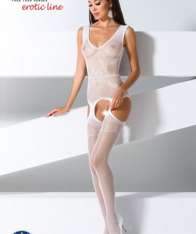 Бодистокинг Passion Erotic Line BS 062 White