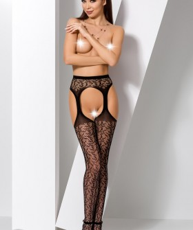 Чулки Passion Erotic Line S 014 Black