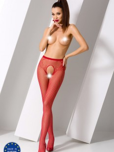 Колготки Passion Erotic Line S 019 Red