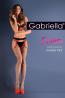 Фантазийные чулки с поясом в широкую сетку Gabriella 637 Strip Panty 153 - фото 2