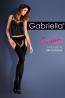 Теплые чулки с поясом и ажурной окантовкой Gabriella 638 Strip Panty Microfibre - фото 3