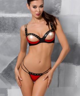 Комплект Passion Lingerie Midori Set Red