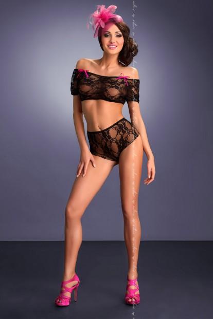 Комплект эротического нижнего белья Me Seduce Piedade - фото 1