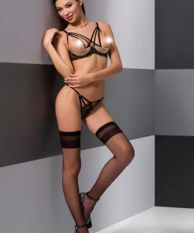 Комплект Passion Lingerie Valery Set Black
