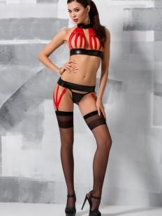Комплект Passion Lingerie Aziza Set Red