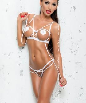 Комплект белья Me Seduce Maya White