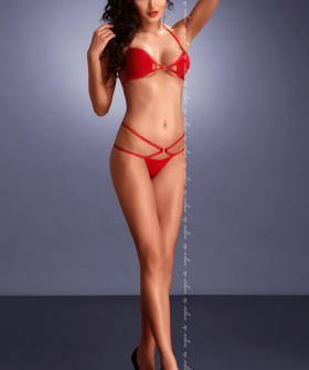 Комплект белья Me Seduce Palmira Red Set