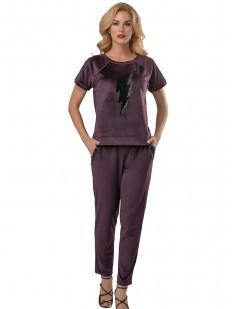 Домашний костюм Lelio 931 фиолетовый