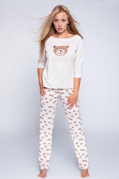 Женская хлопковая пижама с мишками Sensis BEAR