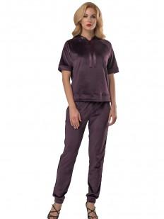 Домашний костюм Lelio 929 фиолетовый