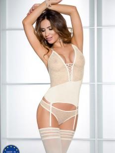 Корсет со стрингами Casmir 04414 creda corset cream