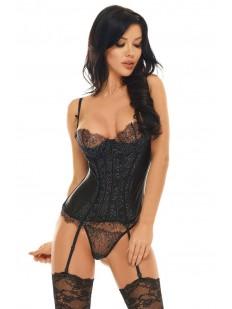 Корсет со стрингами Beauty night Queen corset