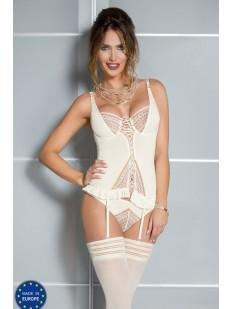 Корсет и стринги Casmir 04305 connie corset cream