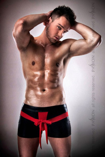 Мужские эротические трусы шорты Passion 001 Shorts - фото 1