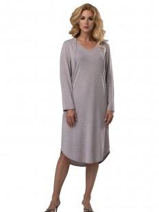 Свободное домашнее женское платье из вискозы