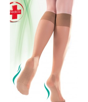 Gabriella 503 Knee-highs Medica 40 den Nero