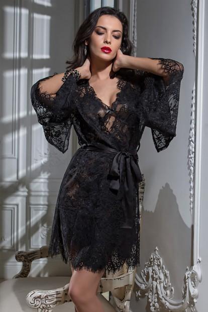Женский кружевной халат кимоно Mia-Amore 2023 CHANELL - фото 1