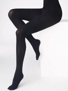 Плотные матовые колготки 180 DEN черного цвета