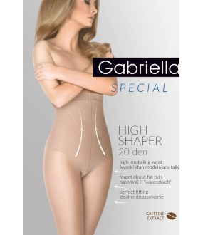 Колготки Gabriella 718 High Shaper 20 den Beige