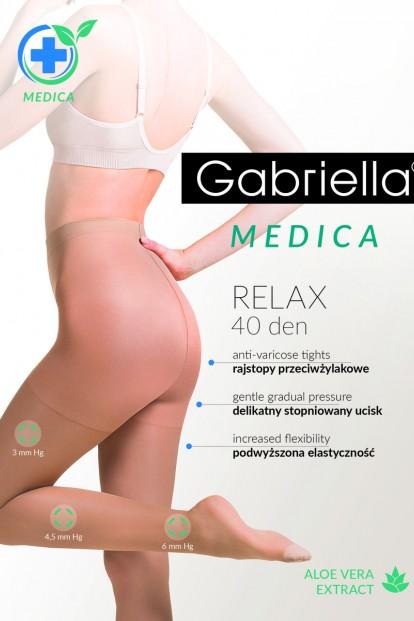 Антиварикозные колготки Gabriella 111 MEDICA RELAX 40 den - фото 1