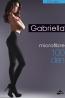 Классические теплые черные колготки Gabriella 124 MICROFIBRE 100 den - фото 1
