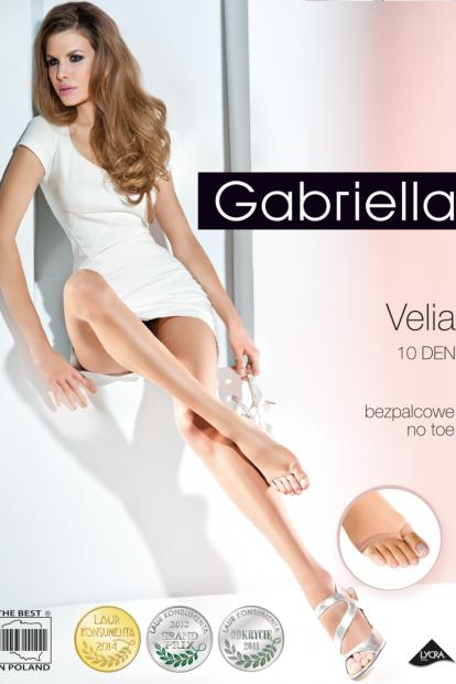 Тонкие телесные колготки без мыска 10 ден Gabriella 336 VELIA - фото 1