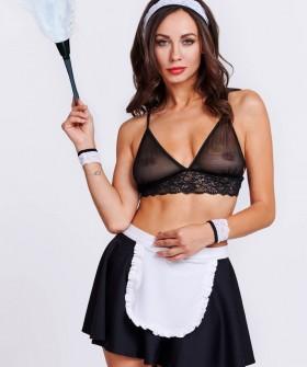 Женский эротический костюм для ролевых игр горничной