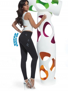 Моделирующие женские пуш ап леггинсы из висозы