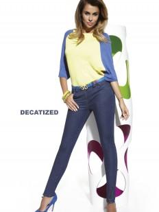 Женские лосины под джинсу из хлопка
