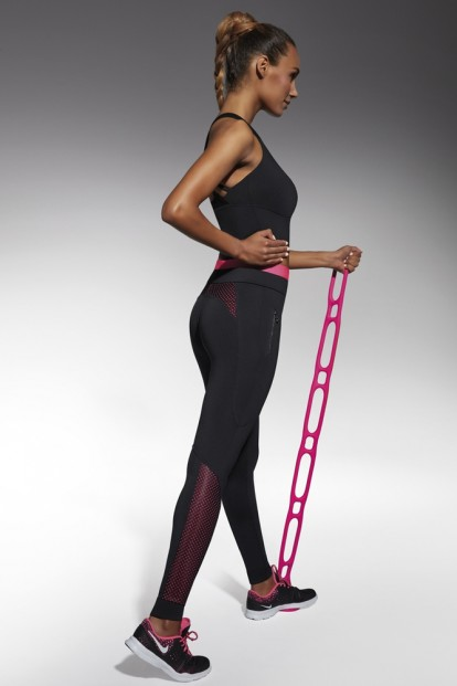Спортивные женские легинсы для фитнеса BAS BLEU Inspire 200 den